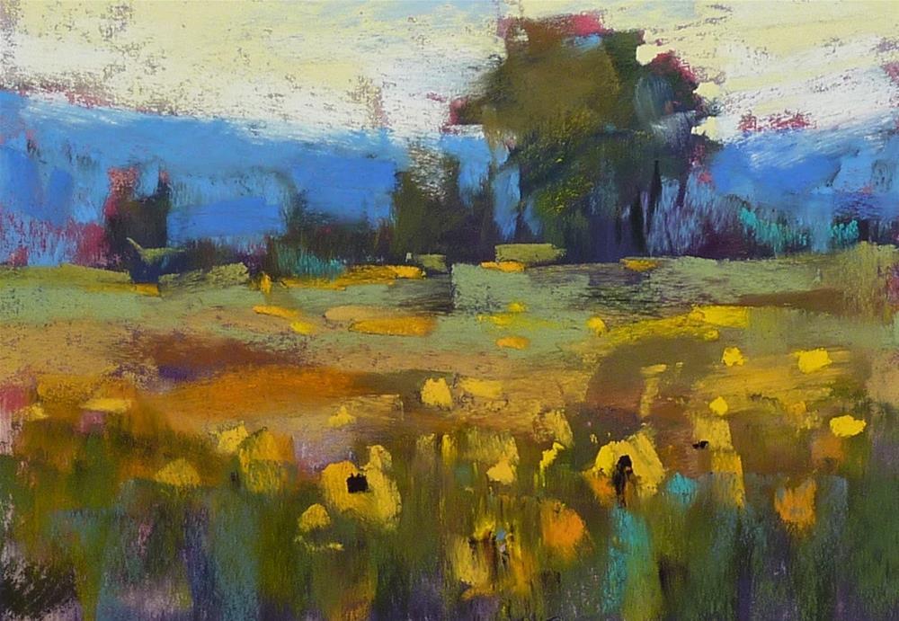 """The Secret to Choosing Underpainting Colors"" original fine art by Karen Margulis"