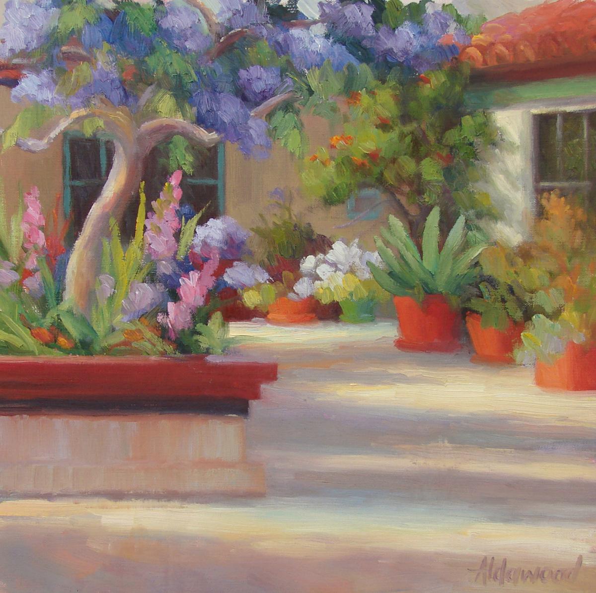 """San Diego Color"" original fine art by Sherri Aldawood"