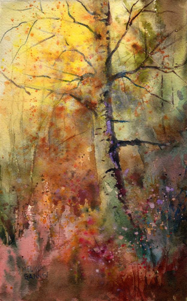 """Wise Old Tree"" original fine art by Melissa Gannon"