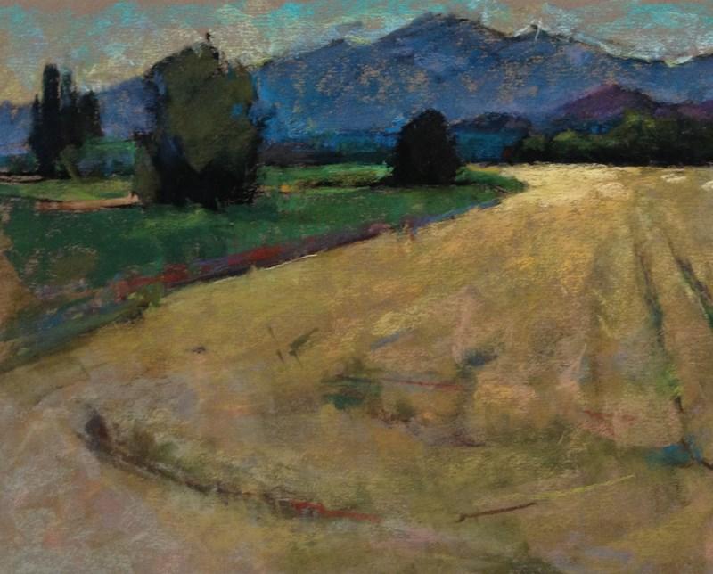 """""""Skagit Valley Pastel Plein Air"""" original fine art by Patti McNutt"""