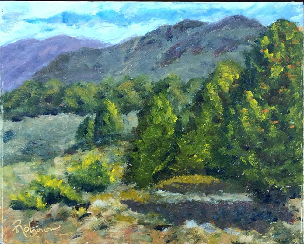 """Vista Verde Retreat"" original fine art by Renee Robison"