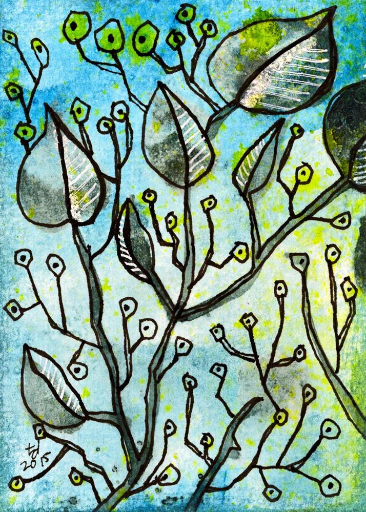 """""""The Hedgerows"""" original fine art by Tonya Doughty"""