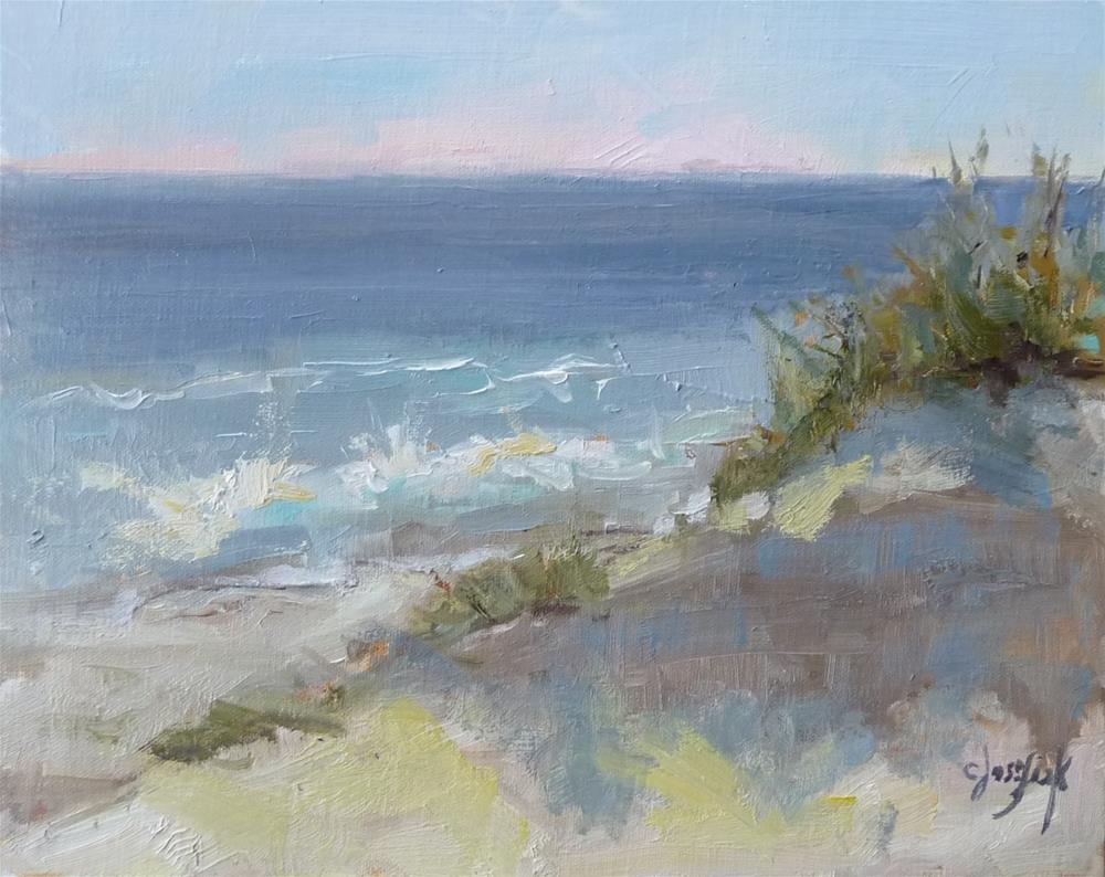"""Carolina Coast"" original fine art by Carol Josefiak"