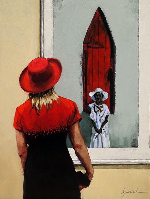 """Young"" original fine art by Karin Jurick"
