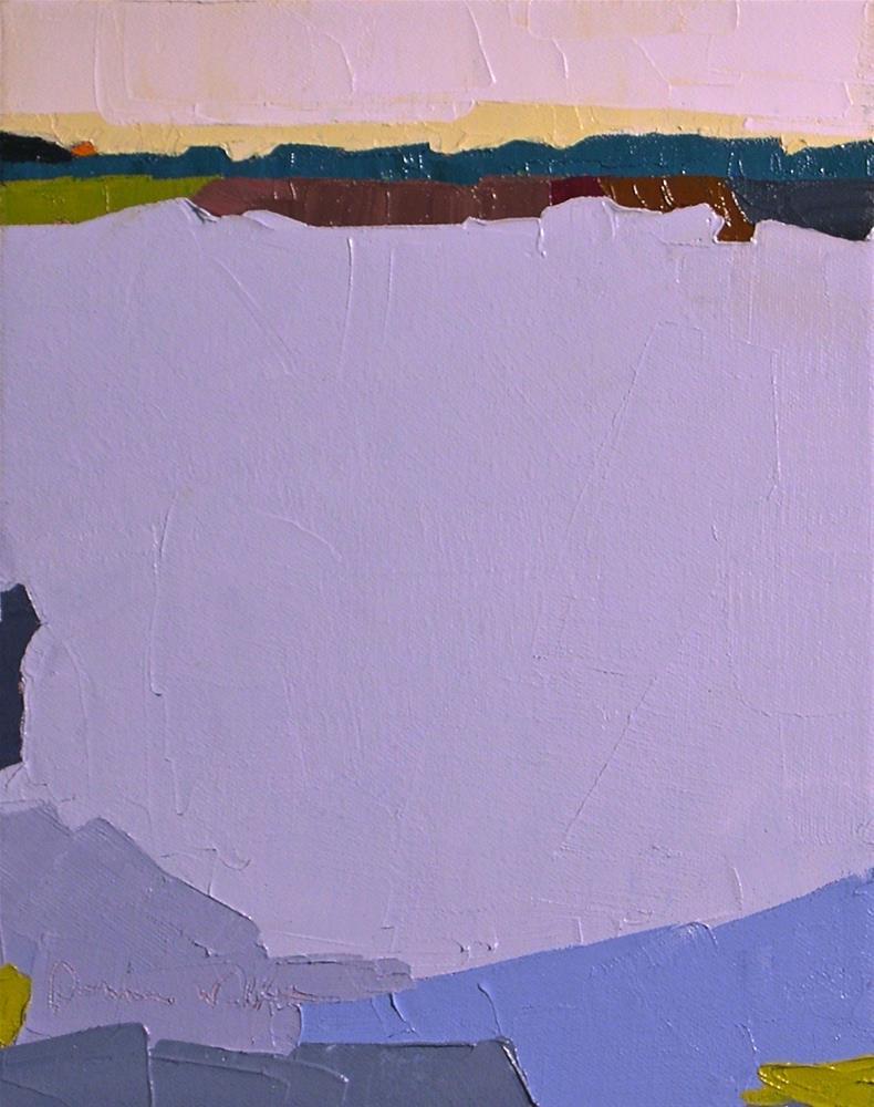 """""""Horizon VII"""" original fine art by Donna Walker"""