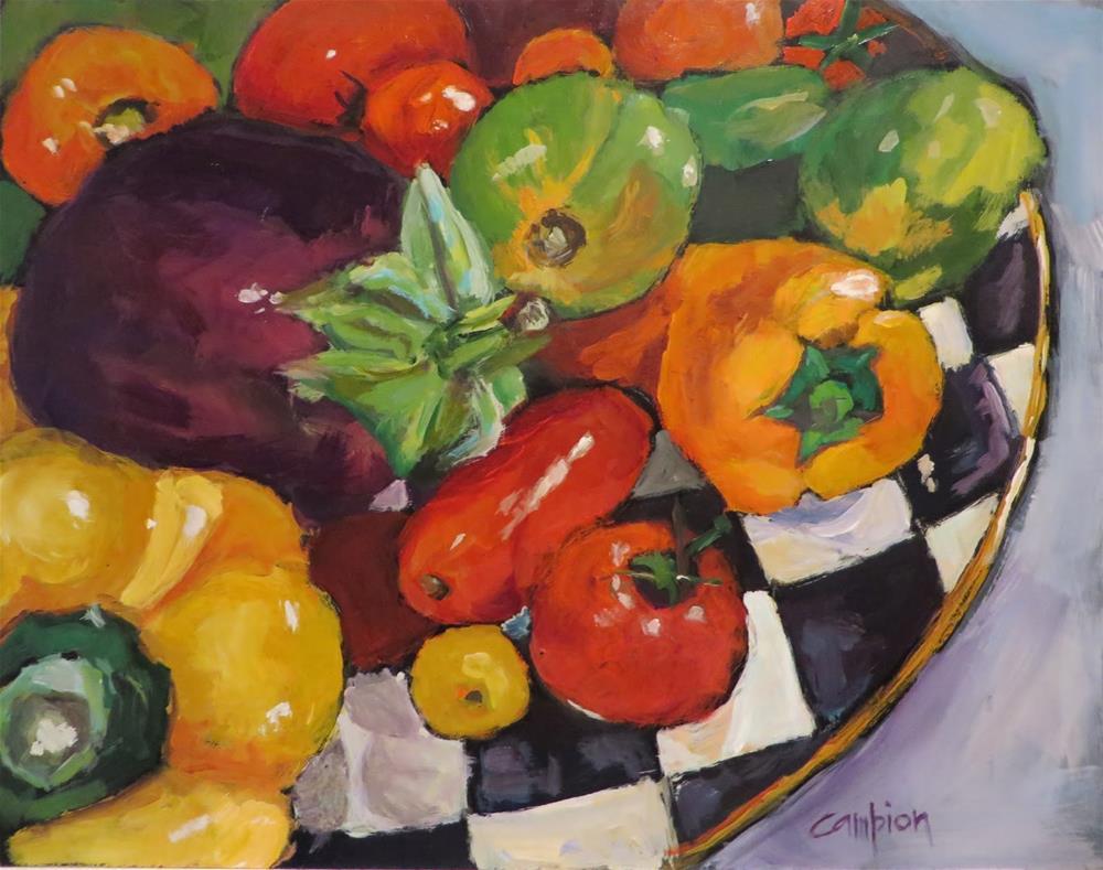 """711 Abundance"" original fine art by Diane Campion"