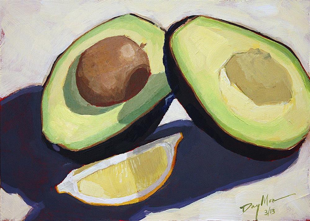 """Avocado"" original fine art by Mike Daymon"