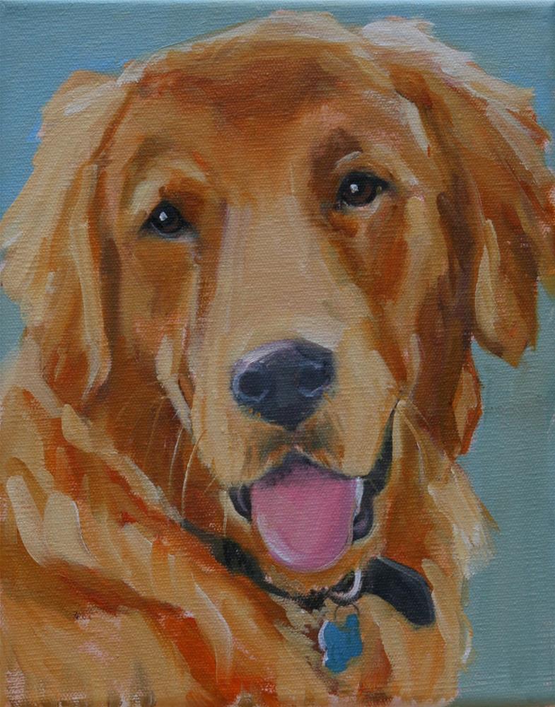 """sonny"" original fine art by Carol Carmichael"