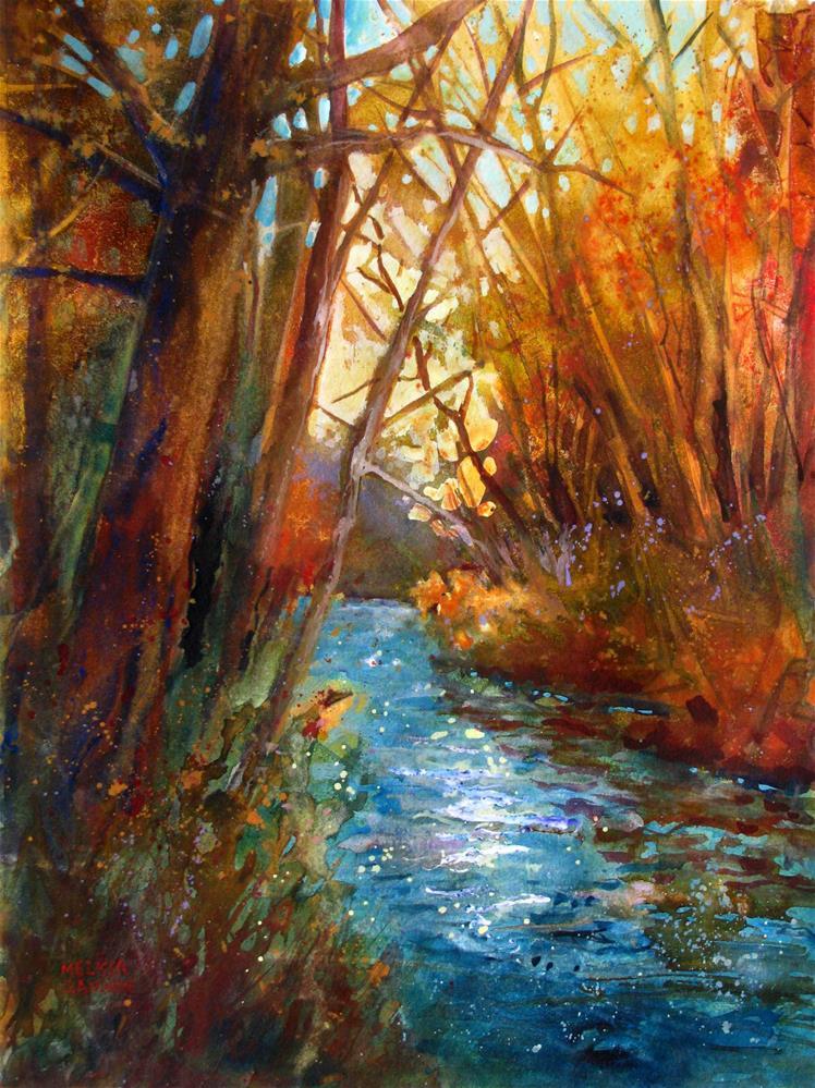 """""""Full of Life, Full of Dreams"""" original fine art by Melissa Gannon"""