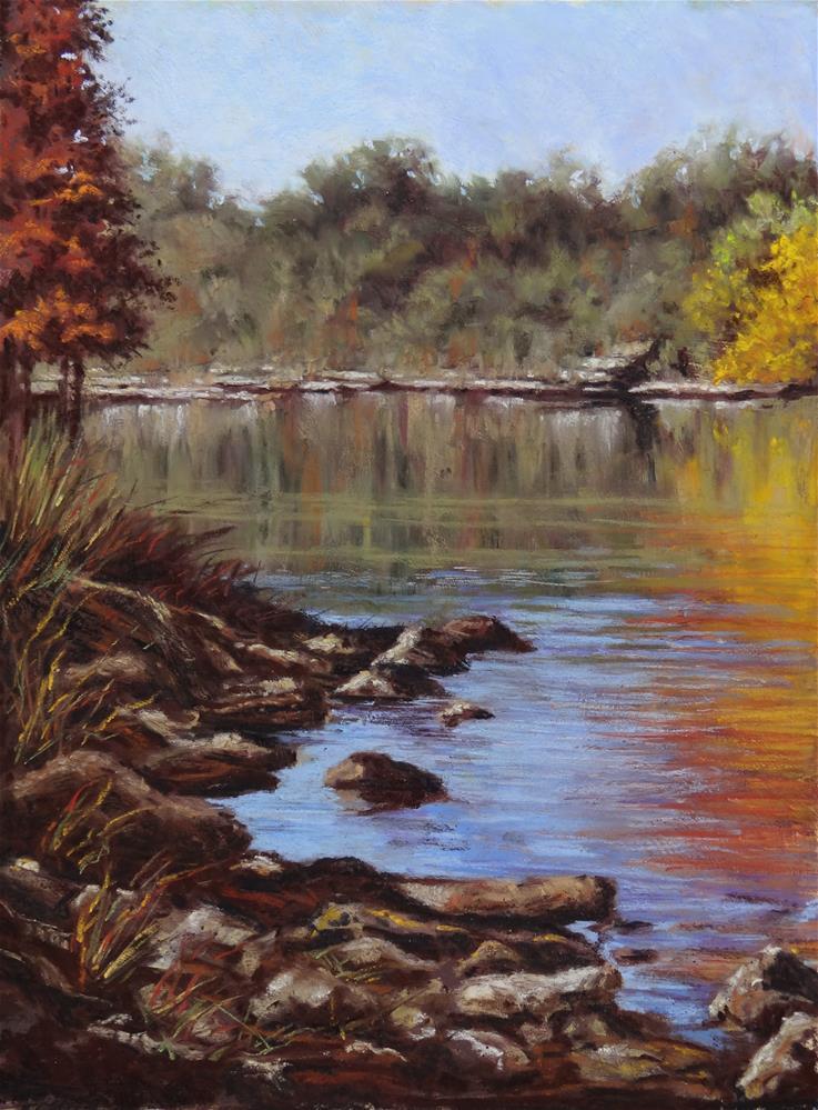"""Guadalupe Color"" original fine art by Denise Beard"