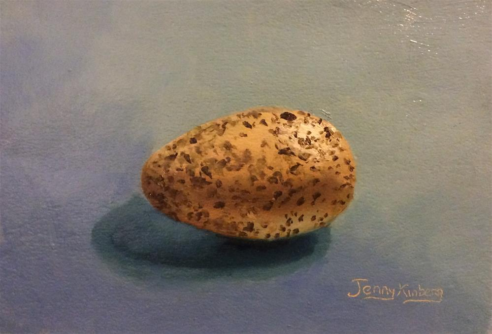 """Gull egg"" original fine art by Jenny Kinberg"
