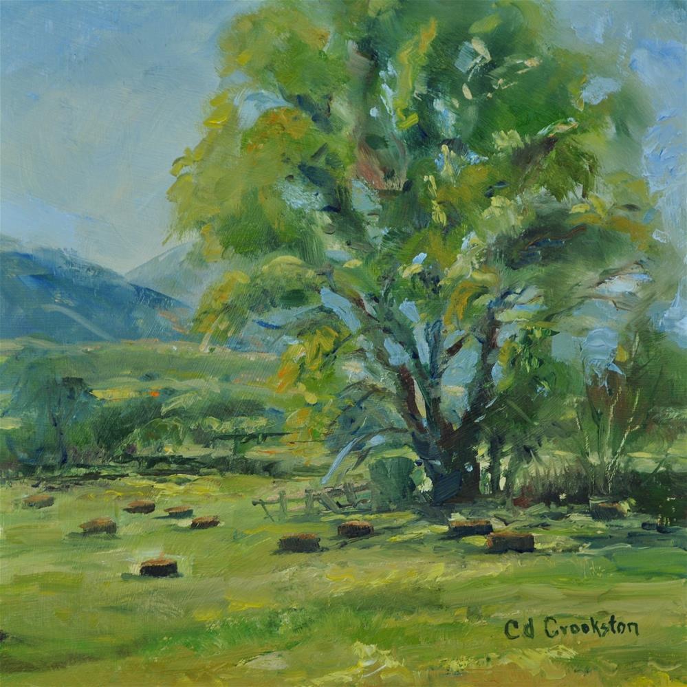 """A Good Days Work"" original fine art by Catherine Crookston"