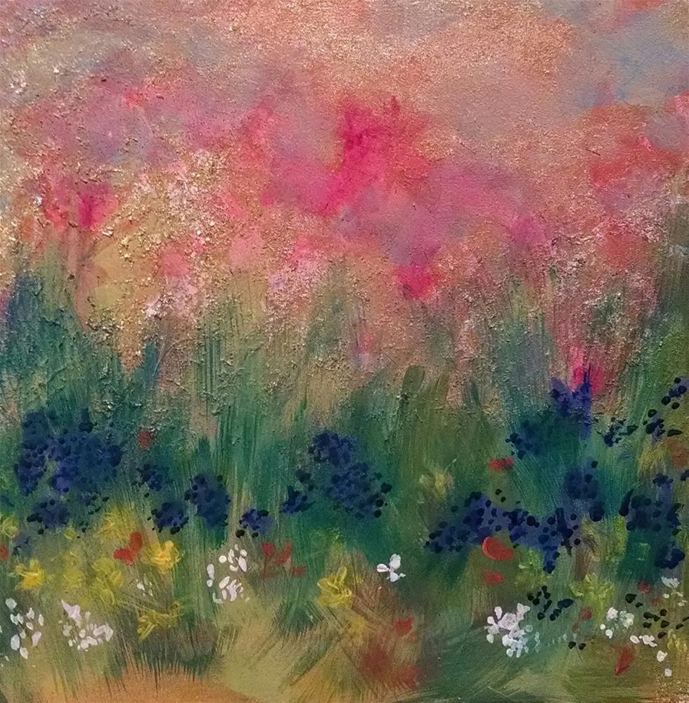 """""""May Flowers"""" original fine art by Kathy Fleming"""