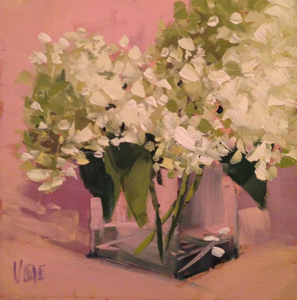 """#139 August Blooms"" original fine art by Patty Voje"