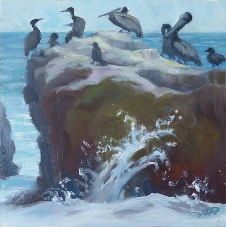 """Still - Moving"" original fine art by Anette Power"