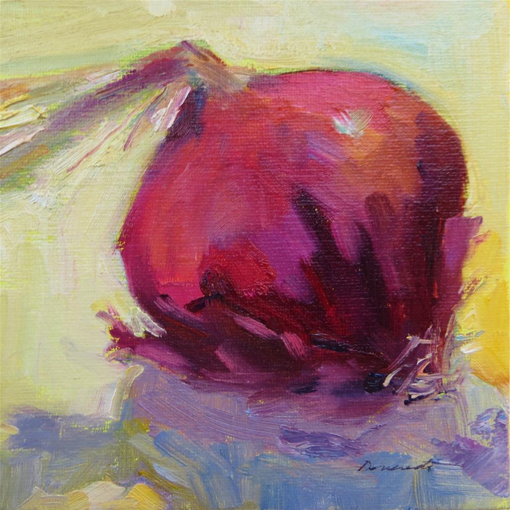 """Brilliant Bulb"" original fine art by Scarlet Owl Studio"