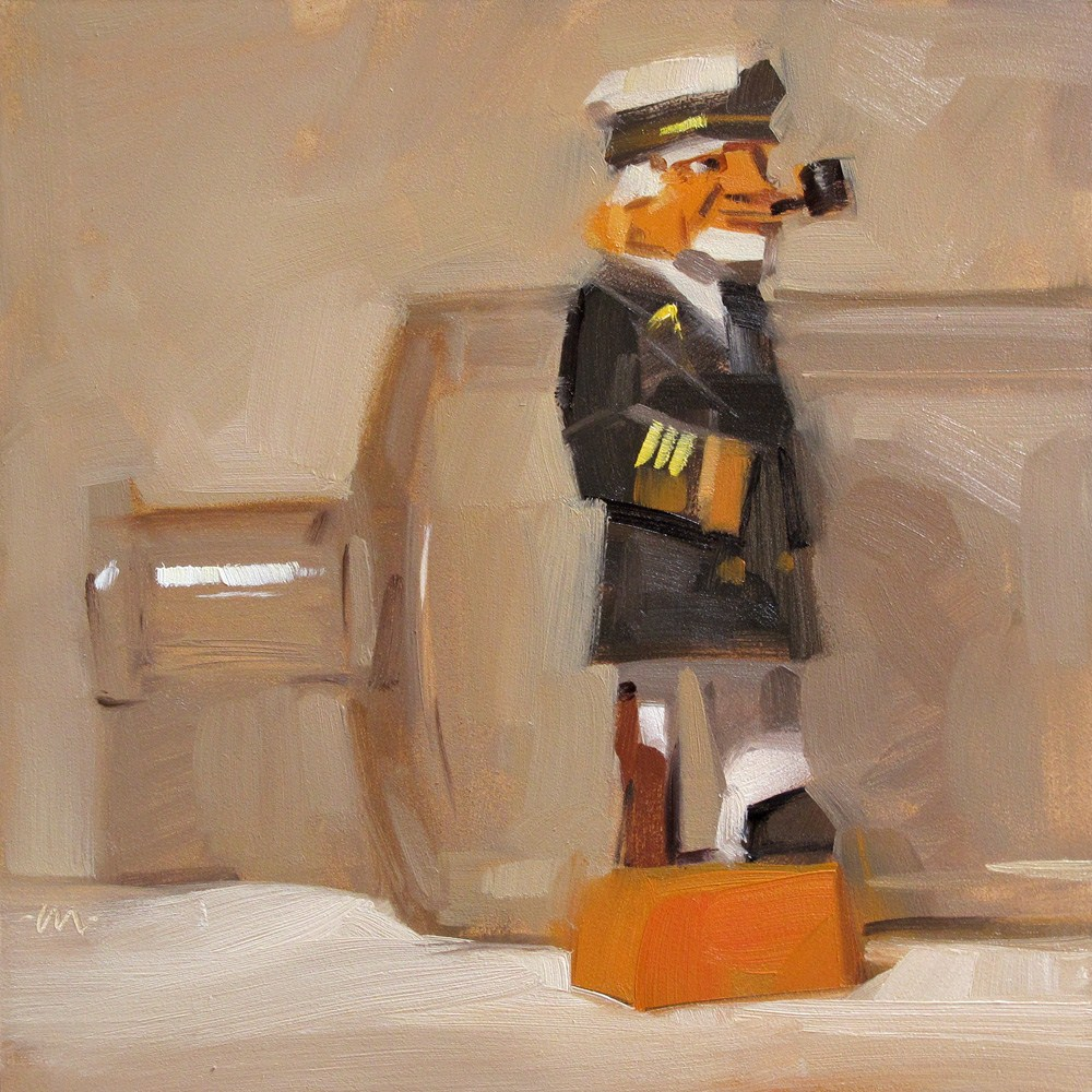"""One Legged Jack"" original fine art by Carol Marine"