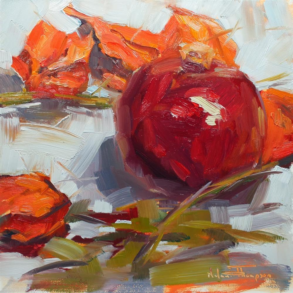 """October Groceries"" original fine art by Melanie Thompson"