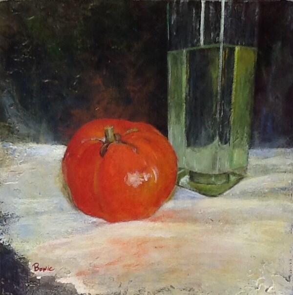 """""""Last Jersey"""" original fine art by Maureen Bowie"""