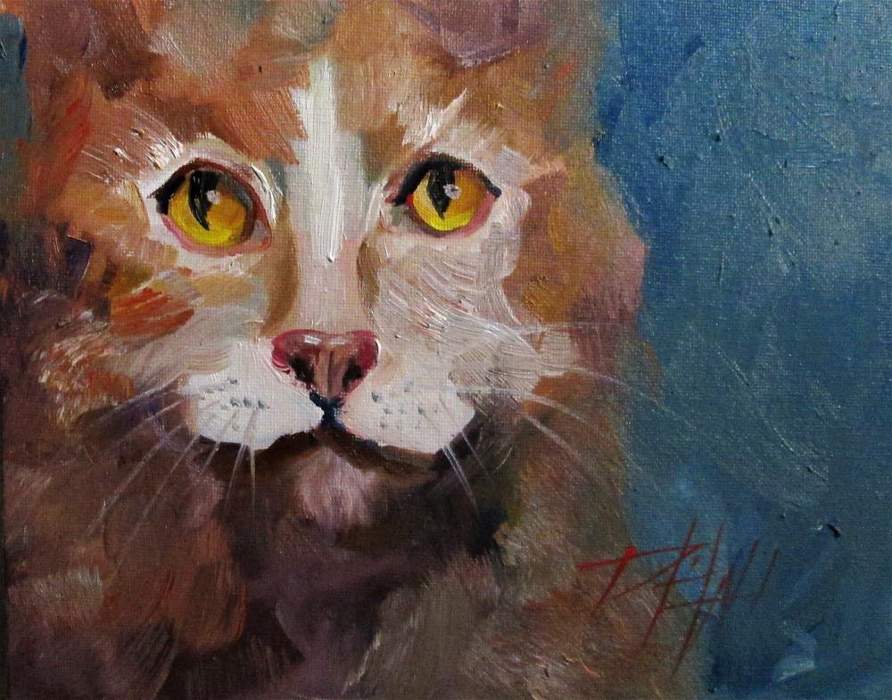 """Cat No. 3"" original fine art by Delilah Smith"