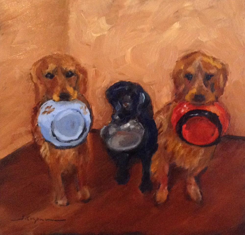 """Meal Time Hint"" original fine art by Shelley Koopmann"