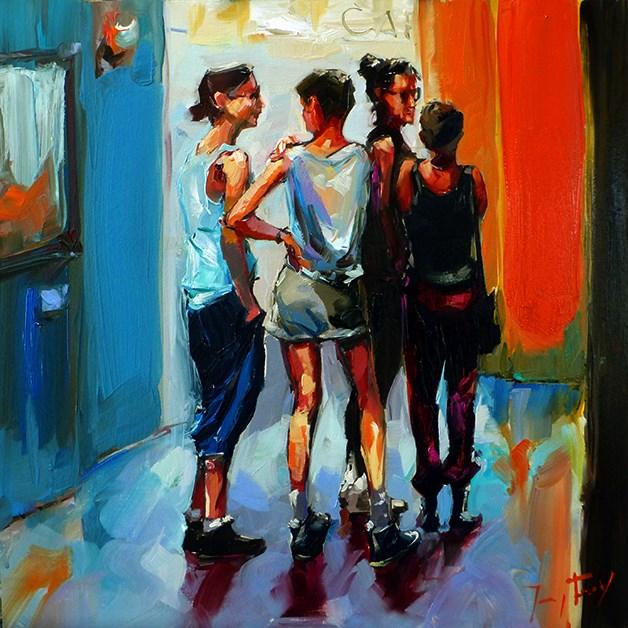 """""""Art Gallery"""" original fine art by Jurij Frey"""