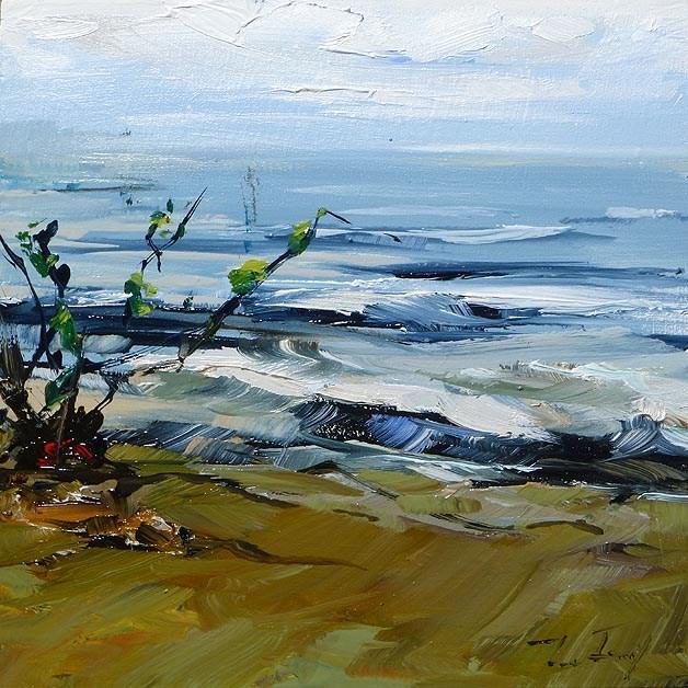 """""""Bodensee"""" original fine art by Jurij Frey"""