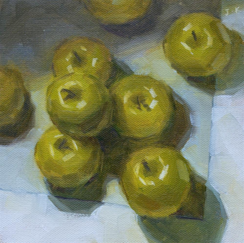 """Applesolute"" original fine art by Jiyoung Kim"