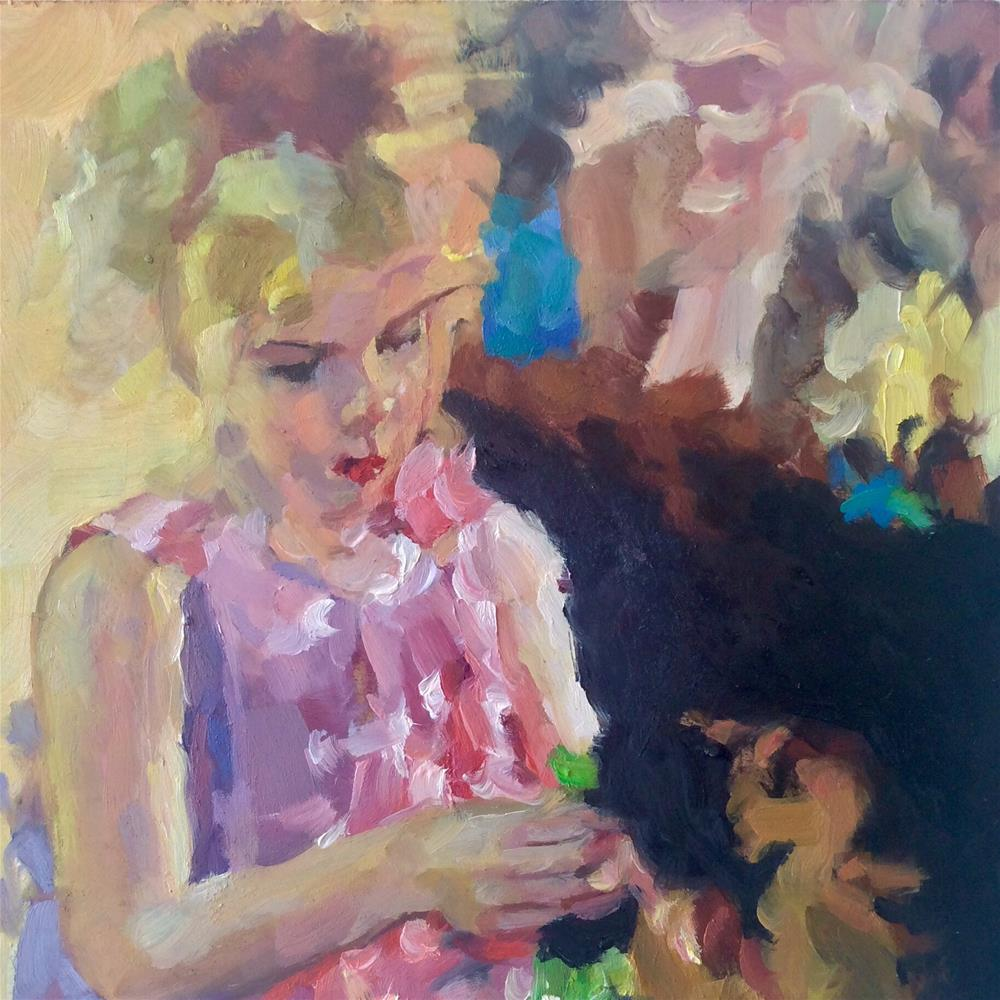 """Layla"" original fine art by Paula Howson-Green"