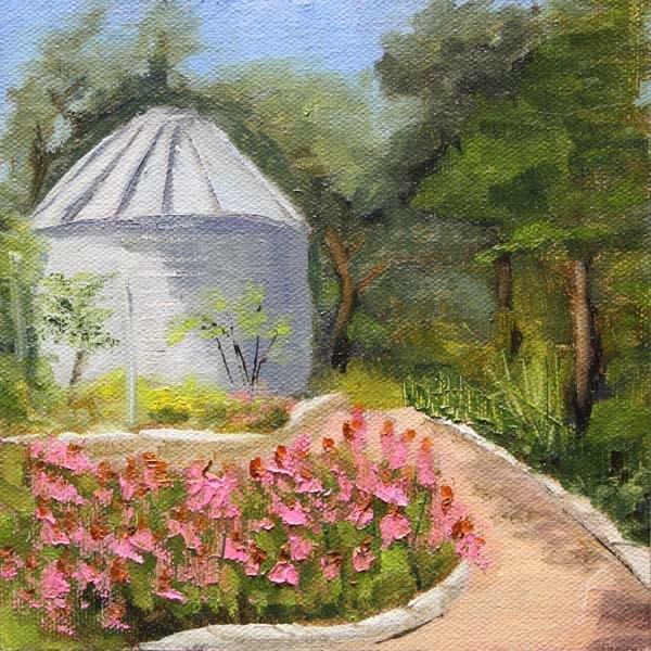 """""""Wildflower Garden"""" original fine art by Jane Frederick"""