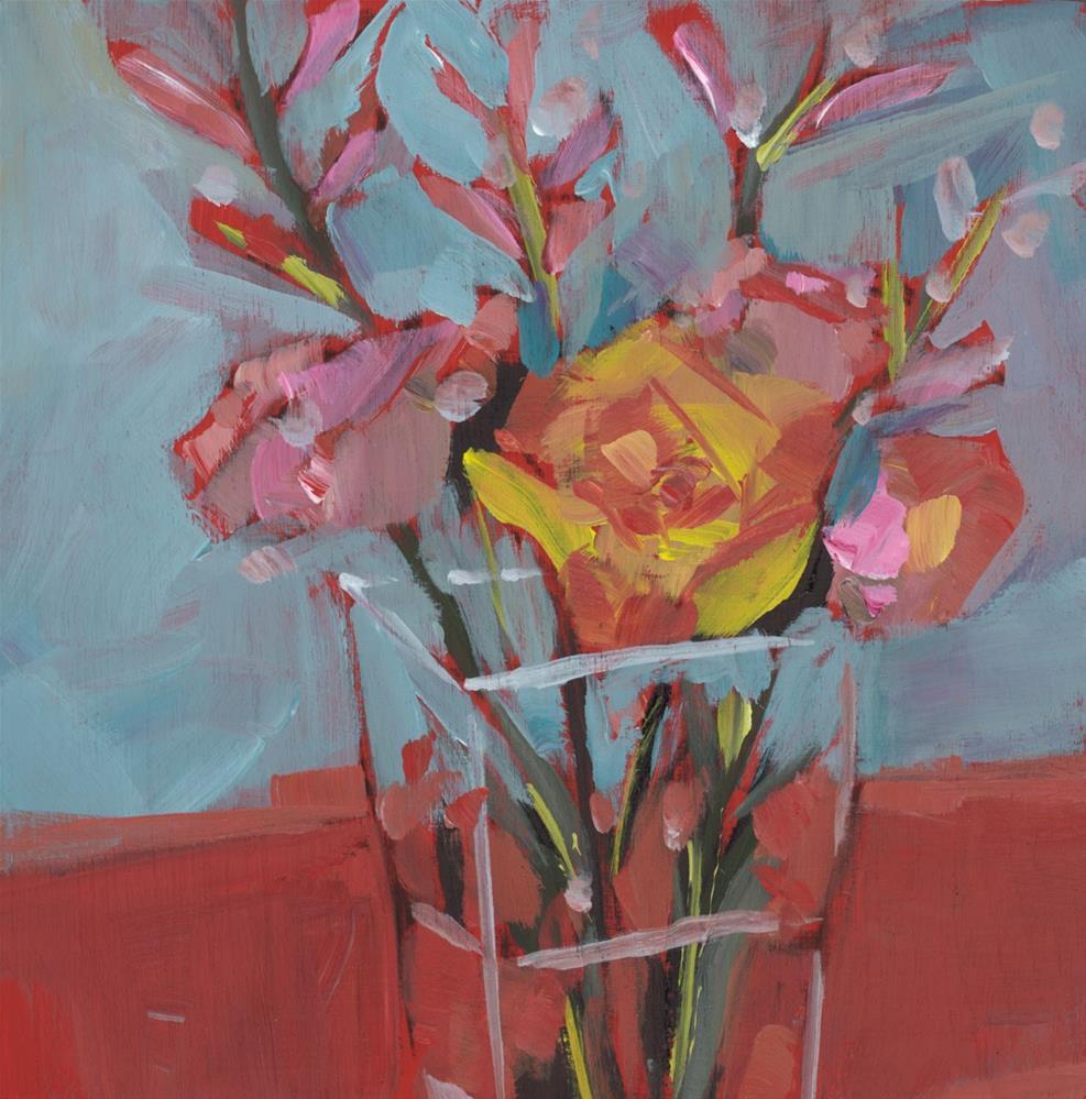 """1032: Poetry"" original fine art by Brian Miller"