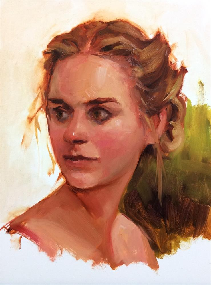 """Second Glance"" original fine art by Laurie Johnson Lepkowska"