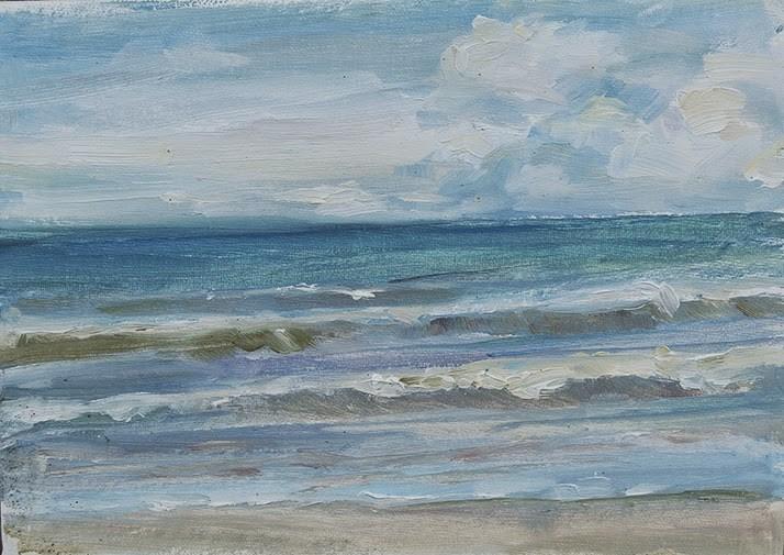 """The Blues"" original fine art by Carol DeMumbrum"