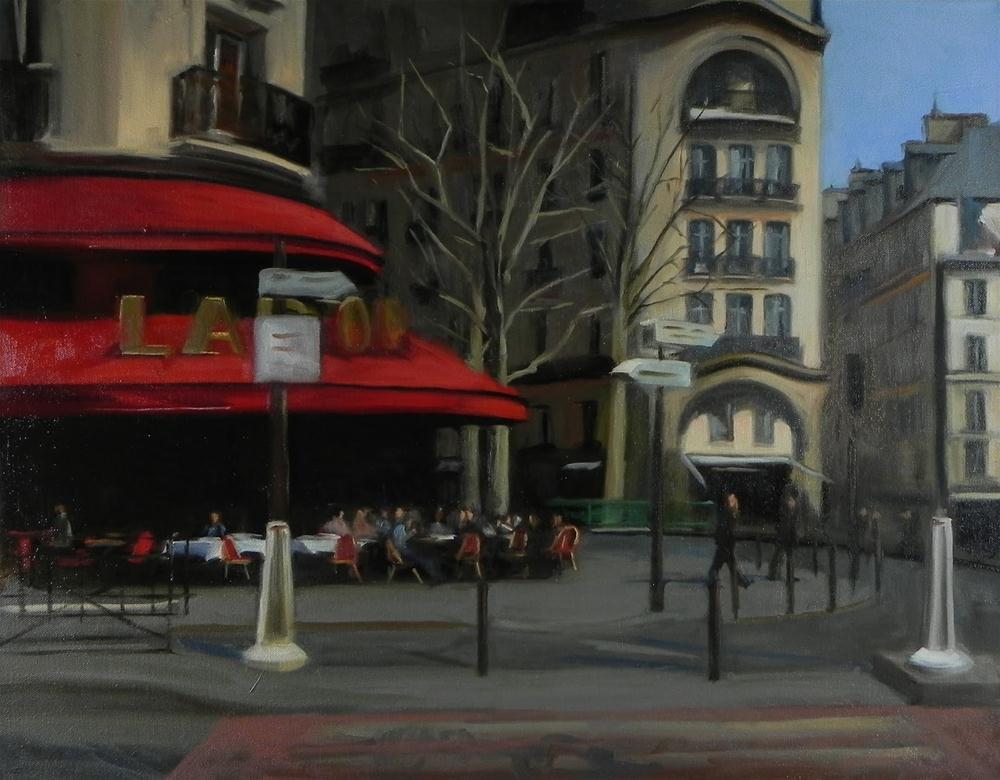 """""""Crosswalk"""" original fine art by Jonelle Summerfield"""