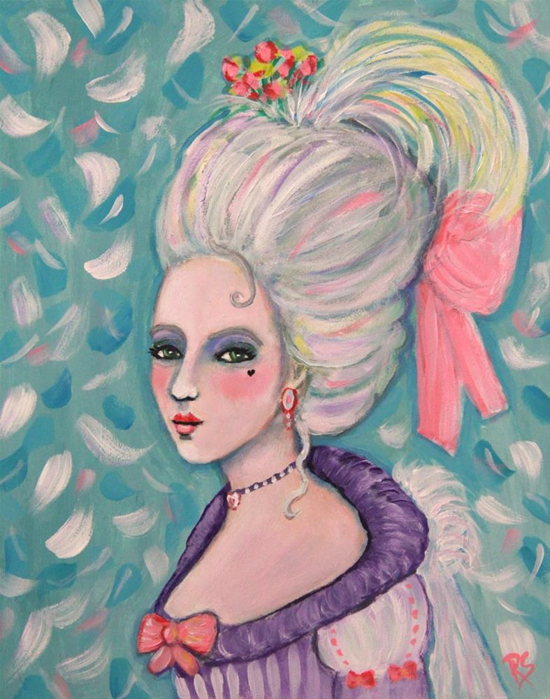 """Maria Louisa"" original fine art by Roberta Schmidt"