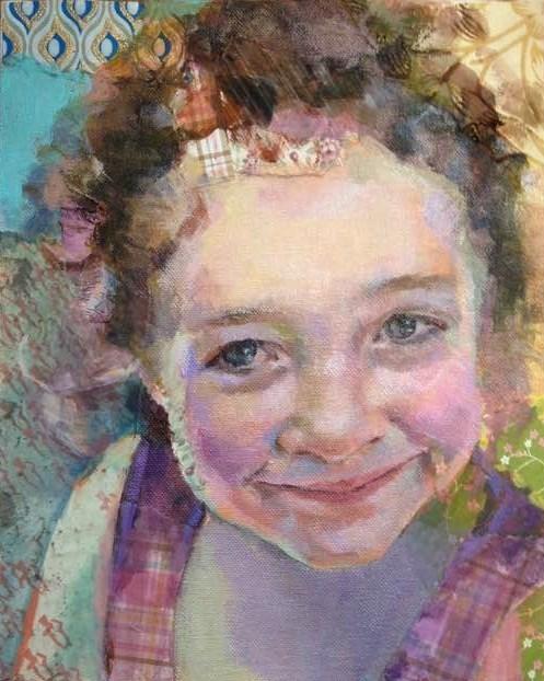 """""""Sophie 1"""" original fine art by Katie Wilson"""