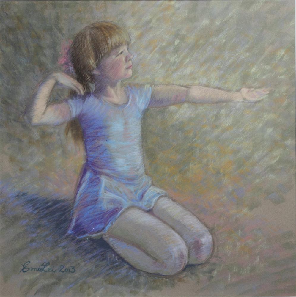 """Sense of Grace"" original fine art by Emilia Leinonen"