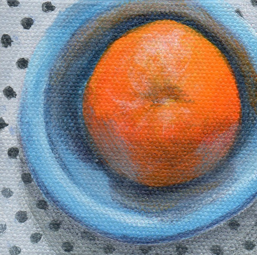 """""""Encircled"""" original fine art by Debbie Shirley"""