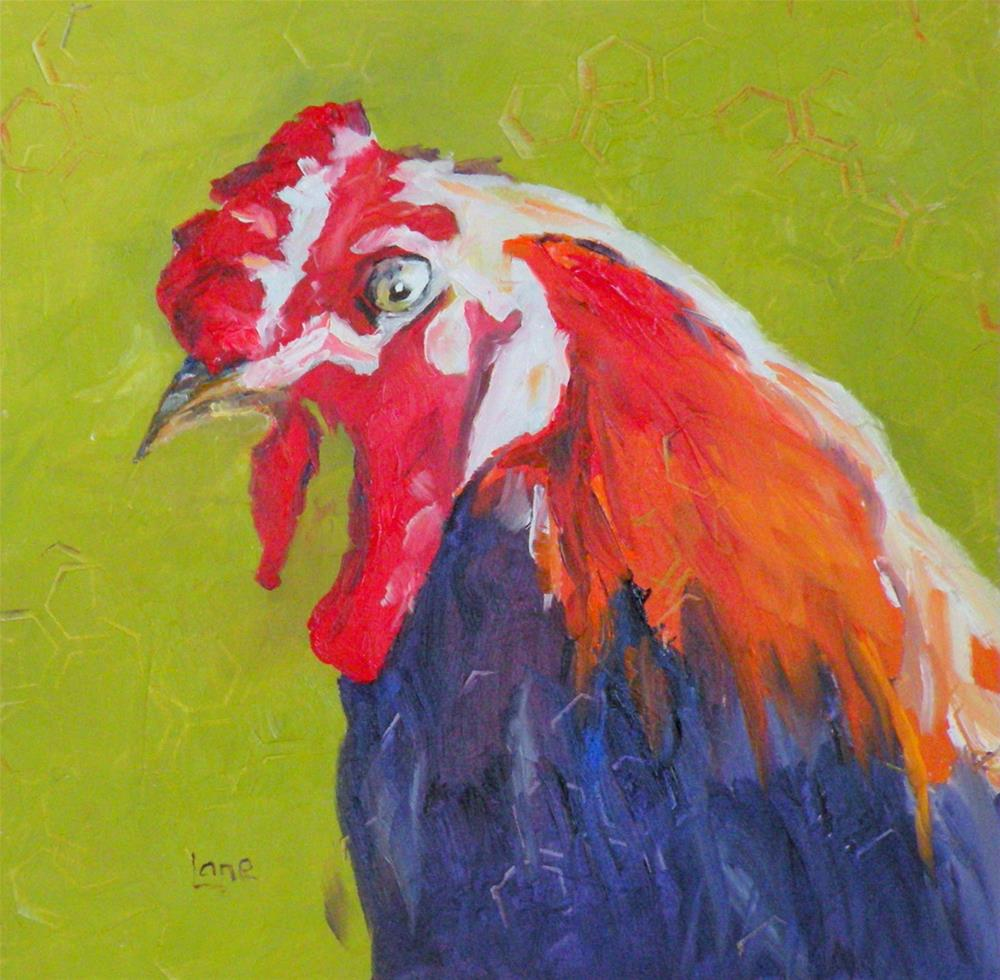 """Big Bird"" original fine art by Saundra Lane Galloway"