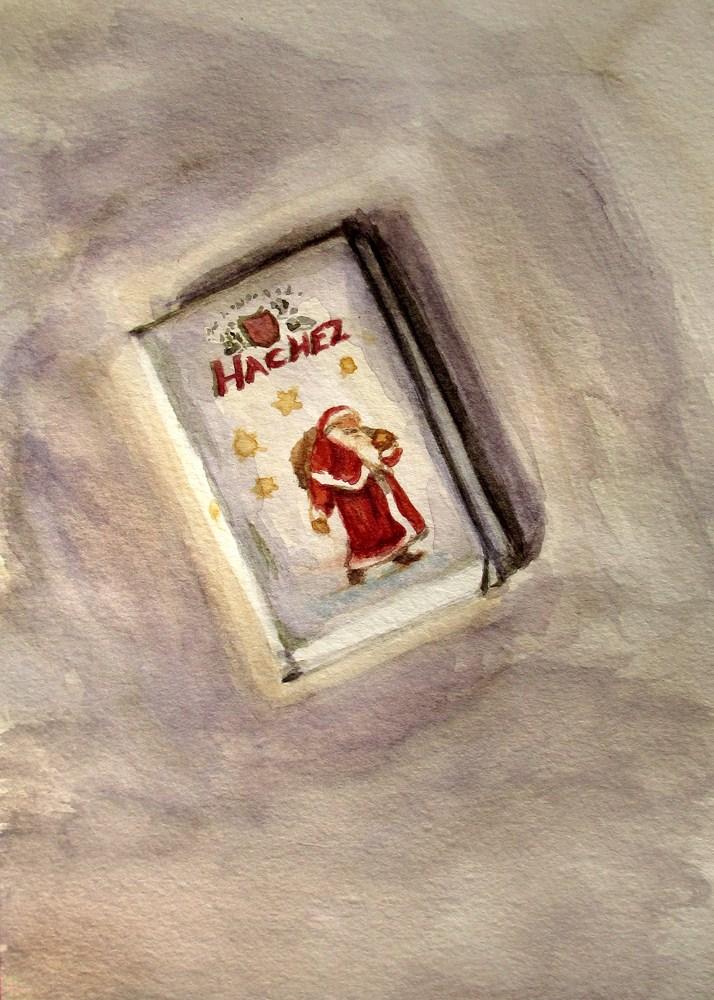 """""""Advent Calendar No. 5"""" original fine art by Ulrike Miesen-Schuermann"""