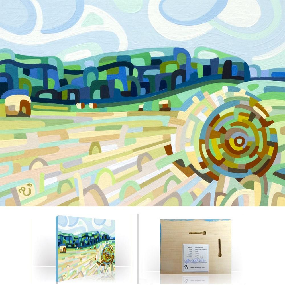 """Landscape Study #93"" original fine art by Mandy Budan"