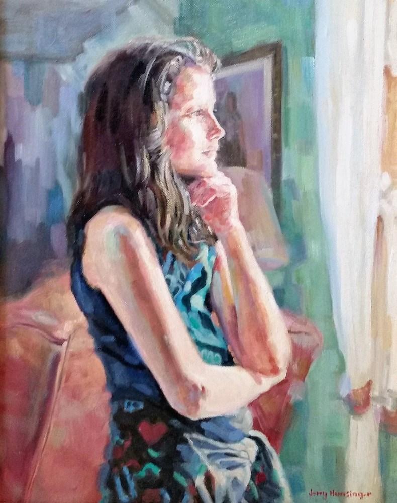 """""""Open Door"""" original fine art by jerry hunsinger"""