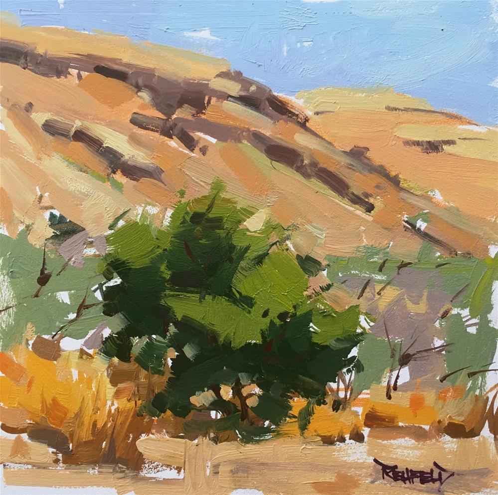 """Deschutes River Big Sagebrush"" original fine art by Cathleen Rehfeld"