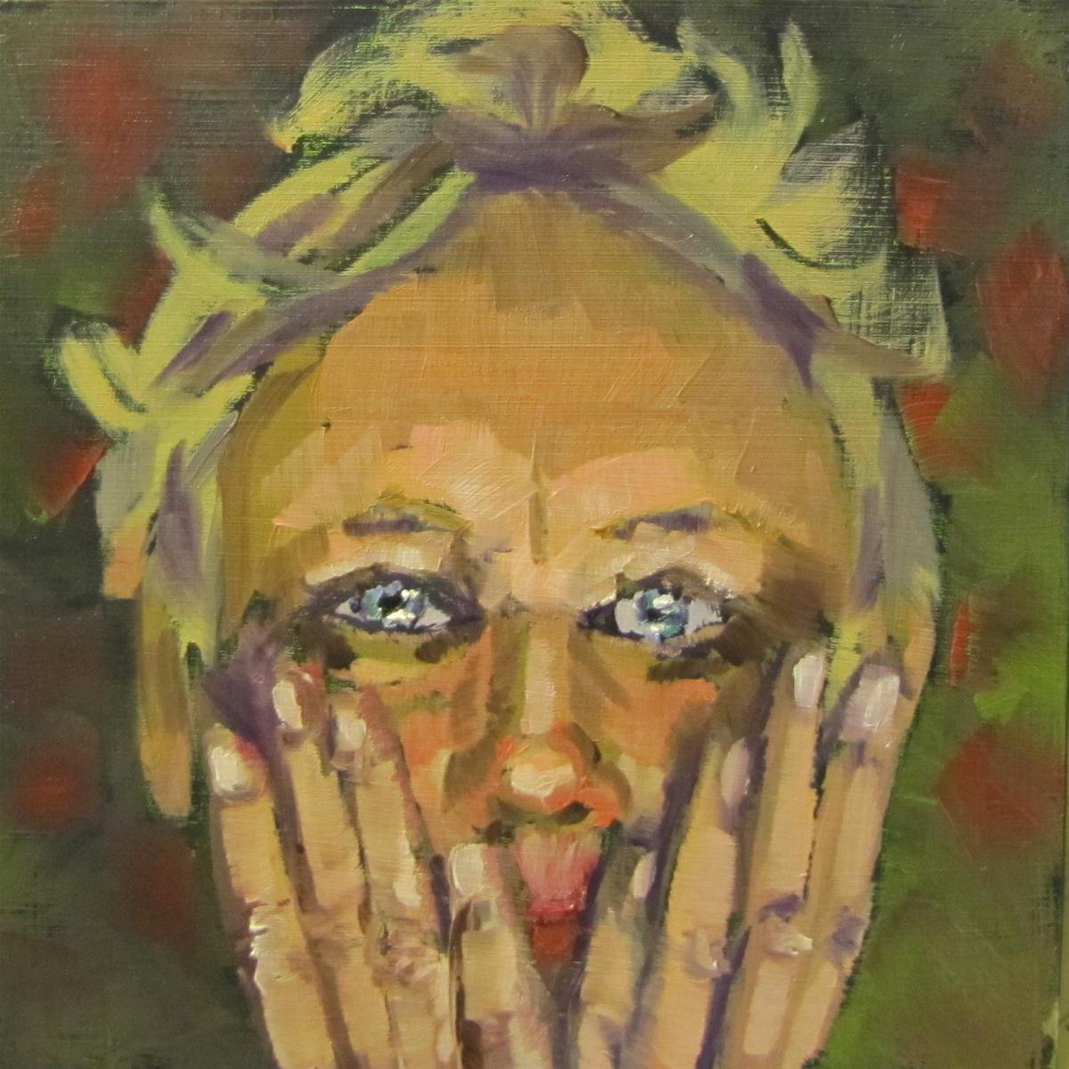 """Face Lift"" original fine art by Christine Holzschuh"