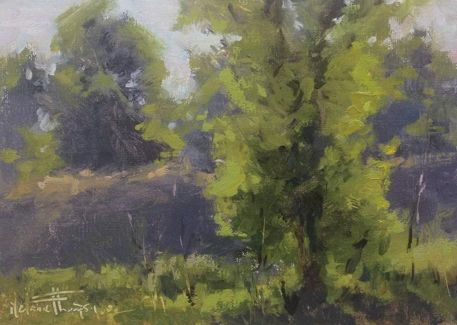 """Summer Haze"" original fine art by Melanie Thompson"