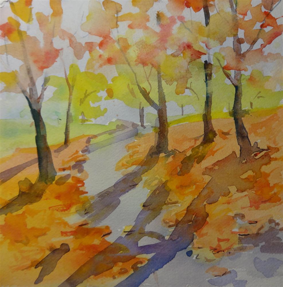 """Kenyon View"" original fine art by angela scully"