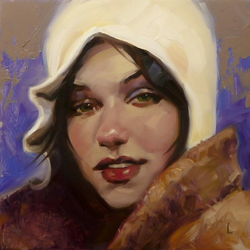 """""""Guadalupe"""" original fine art by John Larriva"""