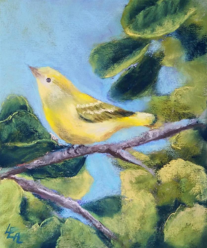 """Joyful"" original fine art by Anna Lisa Leal"