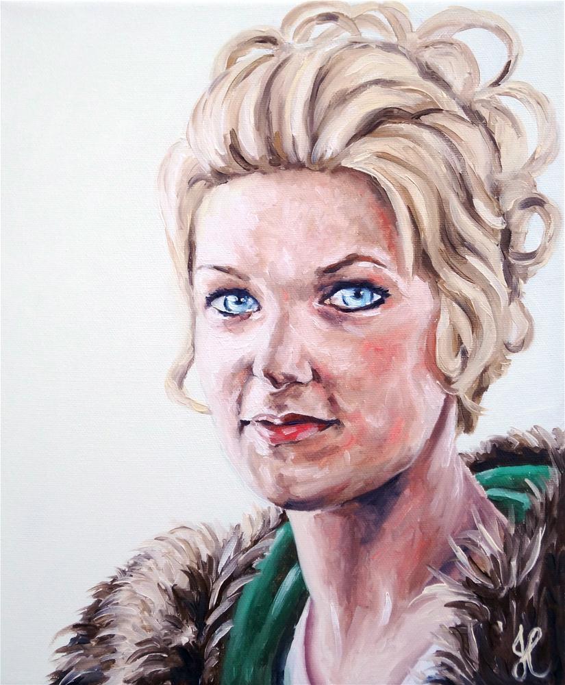 """Mother"" original fine art by Jacinthe Rivard"