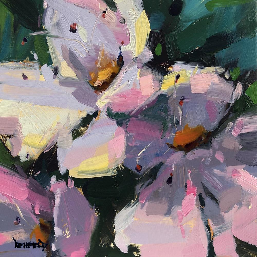 """Spring Blossoms"" original fine art by Cathleen Rehfeld"